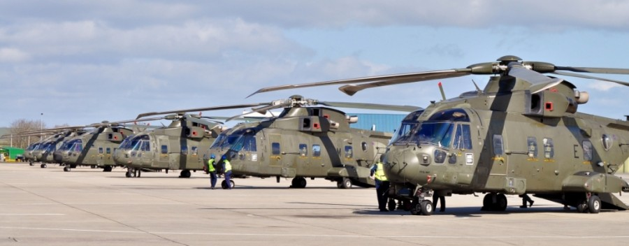 846 NAS return to RNAS Yeovilton - Image © Lewis Gaylard