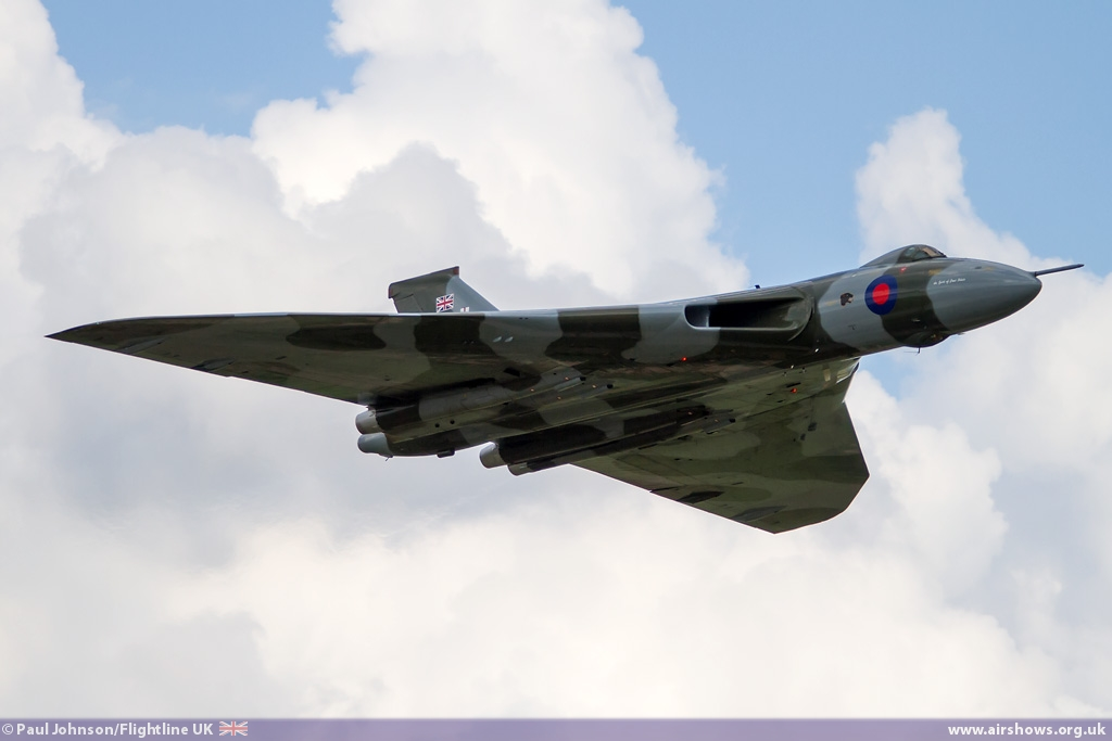 AIRSHOW NEWS: 2015 to be final flying season for Avro Vulcan XH558 - Image © Paul Johnson/Flightline UK
