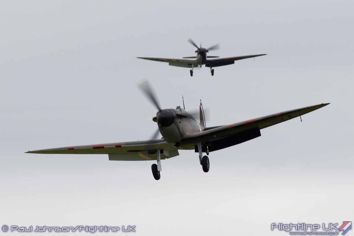 AIRSHOW NEWS: Four rare Mark I Spitfires feature in a formation of twelve Spitfires at IWM Duxford's Air Show