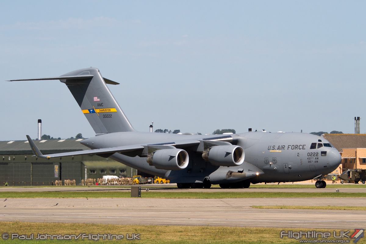 AIRSHOW NEWS: Heavy Movers Line Up For Air Day