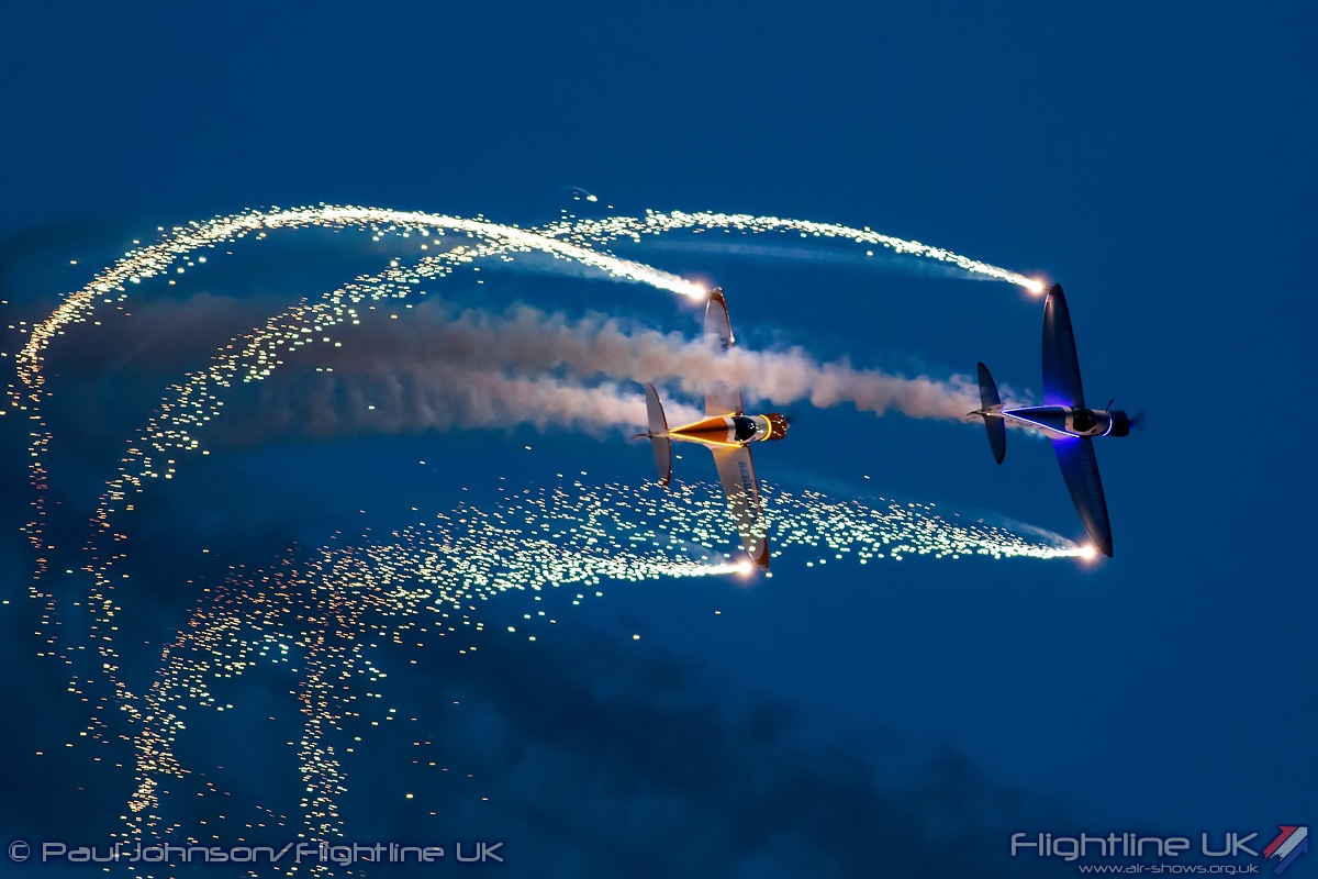 AIRSHOW NEWS: Spectacular Air Displays Take to the Skies at Silverstone Classic