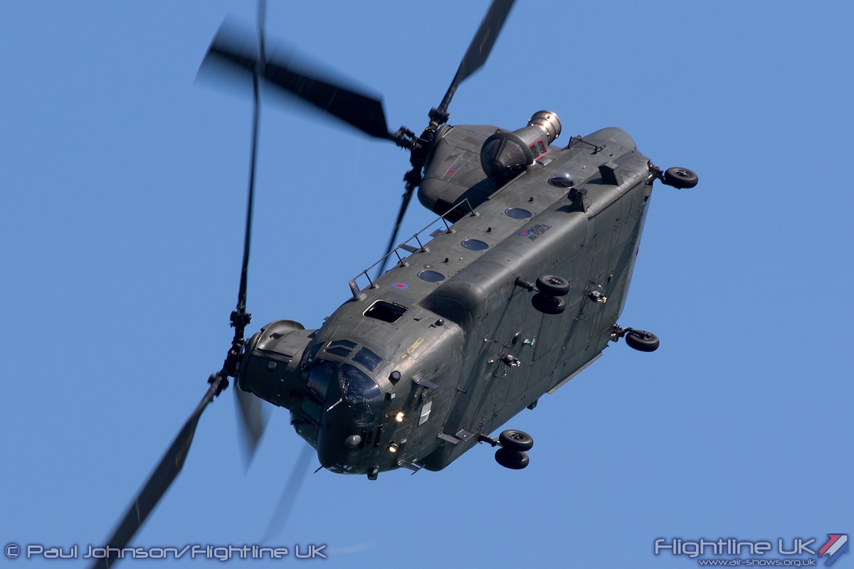 AIRSHOW NEWS: RAF Chinook Display Dates 2016