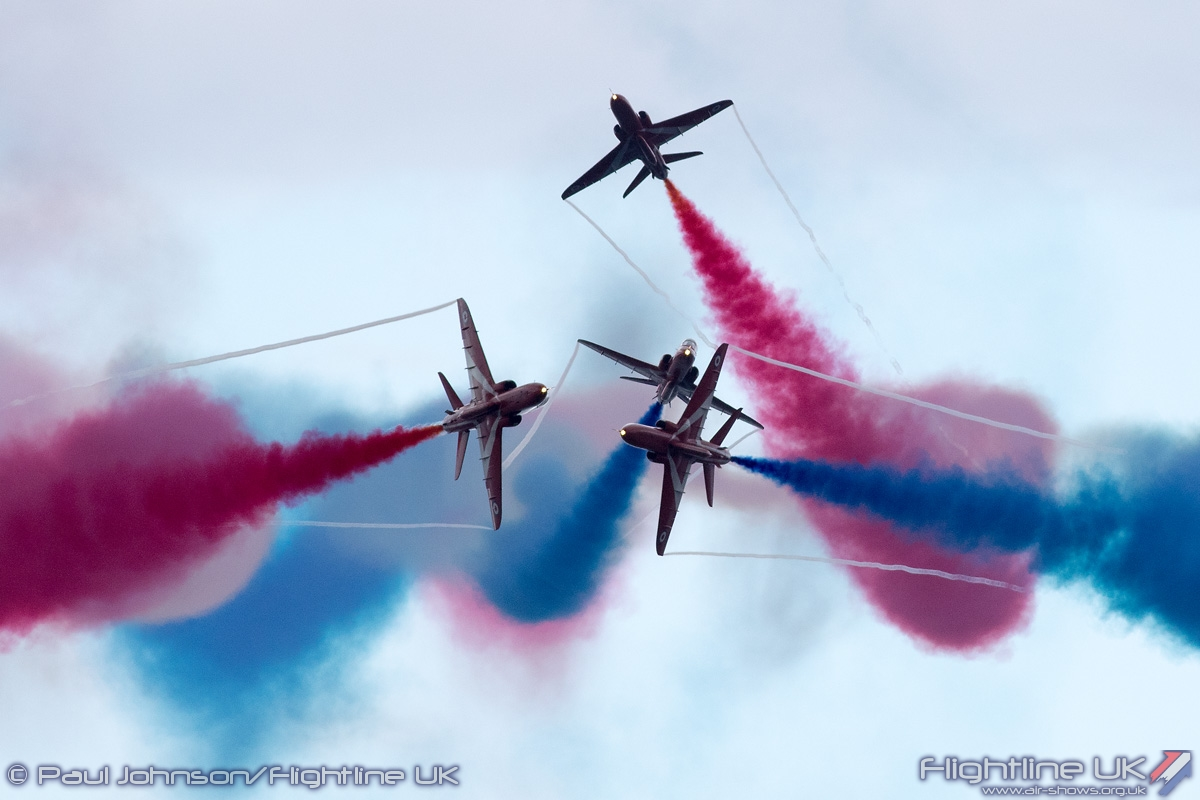 AIRSHOW NEWS: Red Arrows confirmed for Weston Air Festival