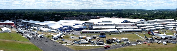 The Farnborough International Airshow 2014