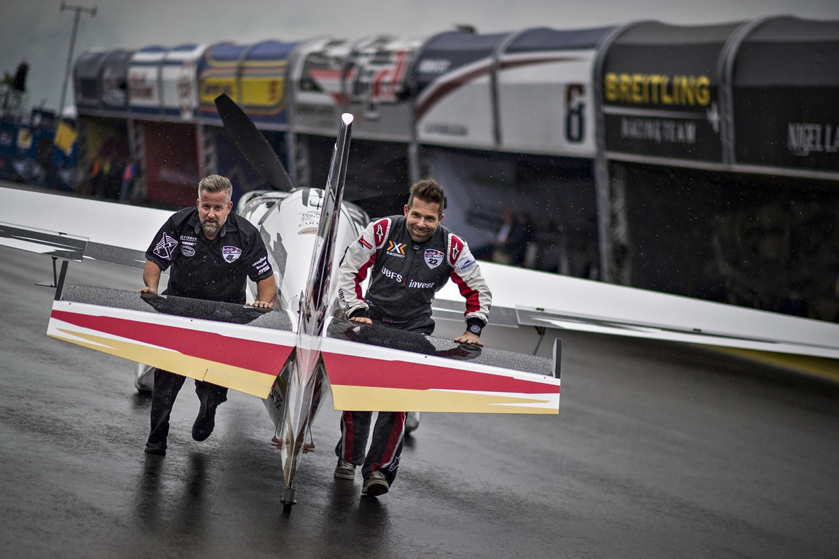 RED BULL AIR RACE: Arch hopes for big win at home race in Spielberg after Qualifying rained out