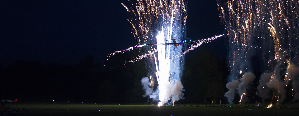 Festival of Flight: Weston Park in the Dark - Image © Paul Johnson/Flightline UK