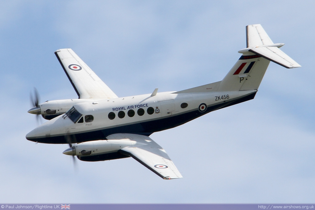 AIRSHOW NEWS: RAF Beechcraft King Air B200 Schedule
