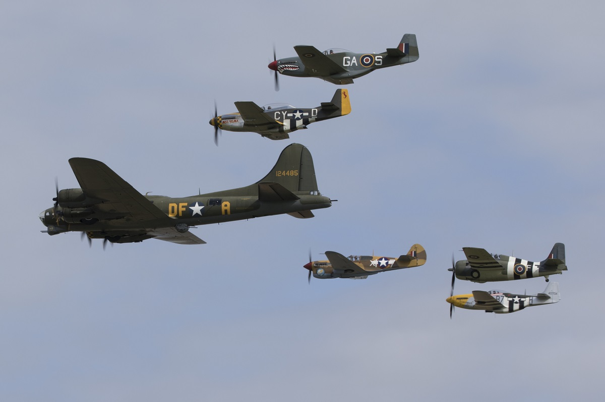 AIRSHOW NEWS: Tickets now on sale for The American Air Show and Flying Legends at IWM Duxford
