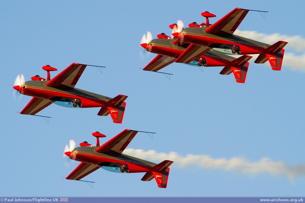 AIRSHOW NEWS: Royal Jordanian Falcons European Display Dates 2016
