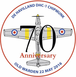 70th Anniversary of the DHC Chipmunk Fly-In, Old Warden