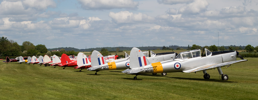 REVIEW: 70th Anniversary of the DHC Chipmunk Fly-in, Old Warden