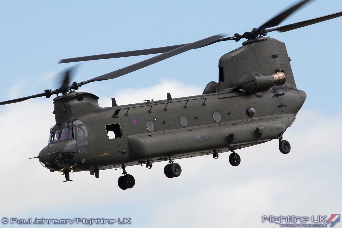 AIRSHOW NEWS: RAF Chinook Display Team Dates 2017