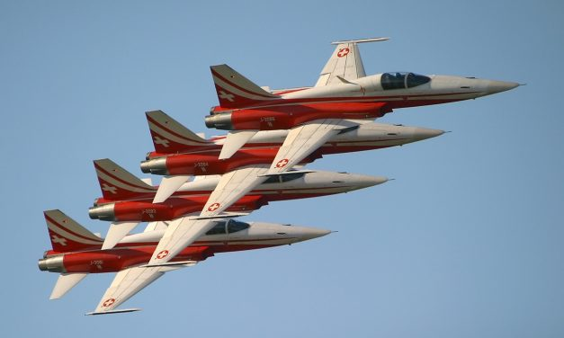 AIRSHOW NEWS: Patrouille Suisse adds Flare to RNAS Yeovilton International Air Day