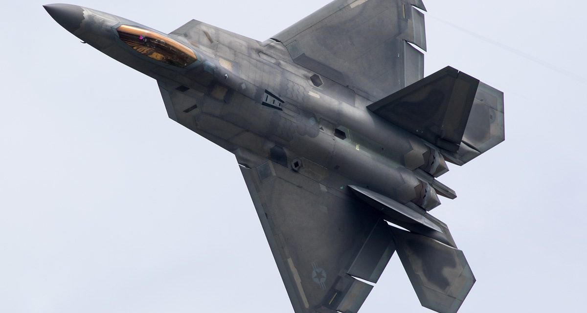 AIRSHOW NEWS: F-22 joins Air Tattoo's USAF 70th Salute