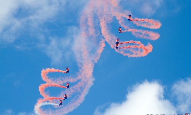 AIRSHOW NEWS: RAF Falcons Parachute Display Team Display Dates 2017