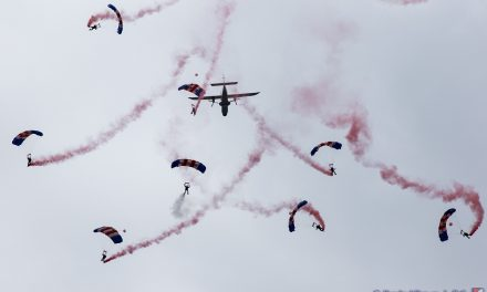 AIRSHOW NEWS: RAF Falcons Parachute Display Team Display Dates 2018