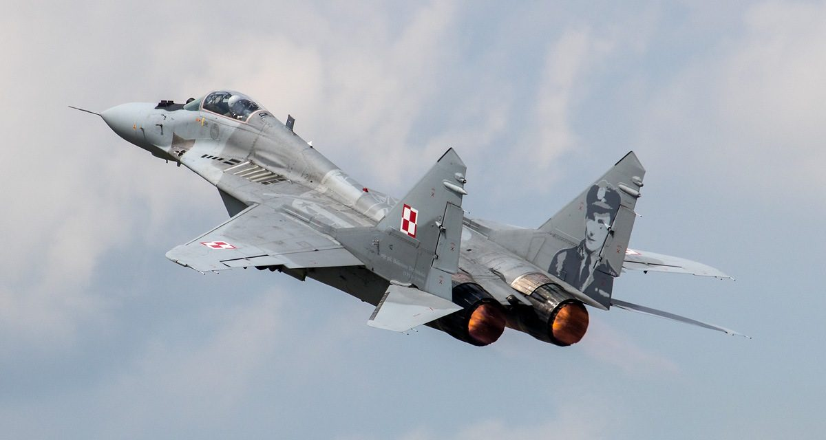AIRSHOW NEWS: Polish jet added to RAF Cosford Air Show line-up