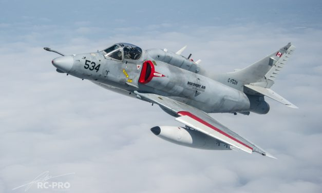 AIRSHOW NEWS: Skyhawk makes long awaited return to Air Tattoo