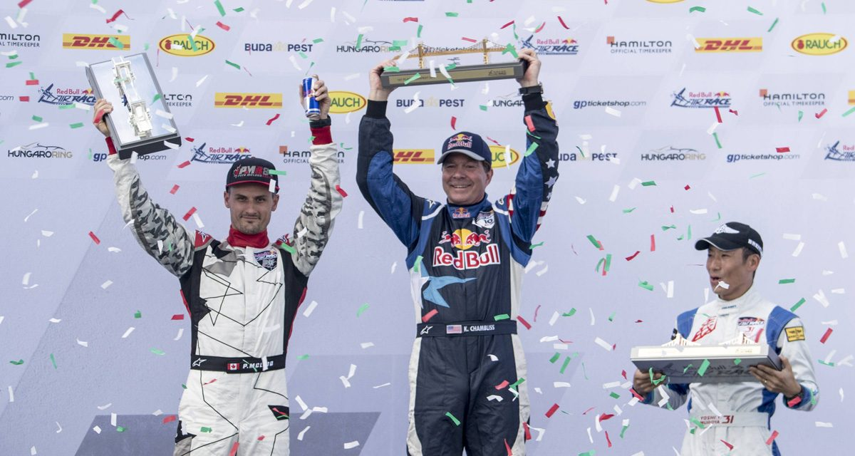 RED BULL AIR RACE: USA's Chambliss unbeatable in Budapest