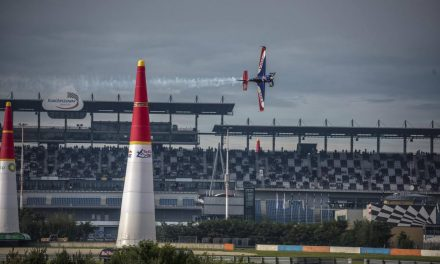 RED BULL AIR RACE: Happy birthday to Hall: Aussie takes pole for speedway showdown