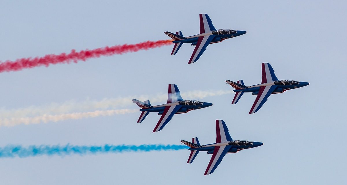 AIRSHOW NEWS: Patrouille de France Display Dates 2018