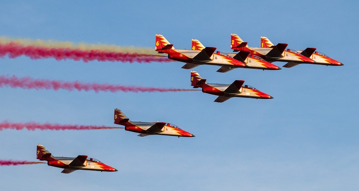 AIRSHOW NEWS: Spanish Air Force International Display Appearances 2018