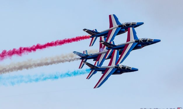 AIRSHOW NEWS: French Air Force presents three display teams at Duxford Air Festival for the first time