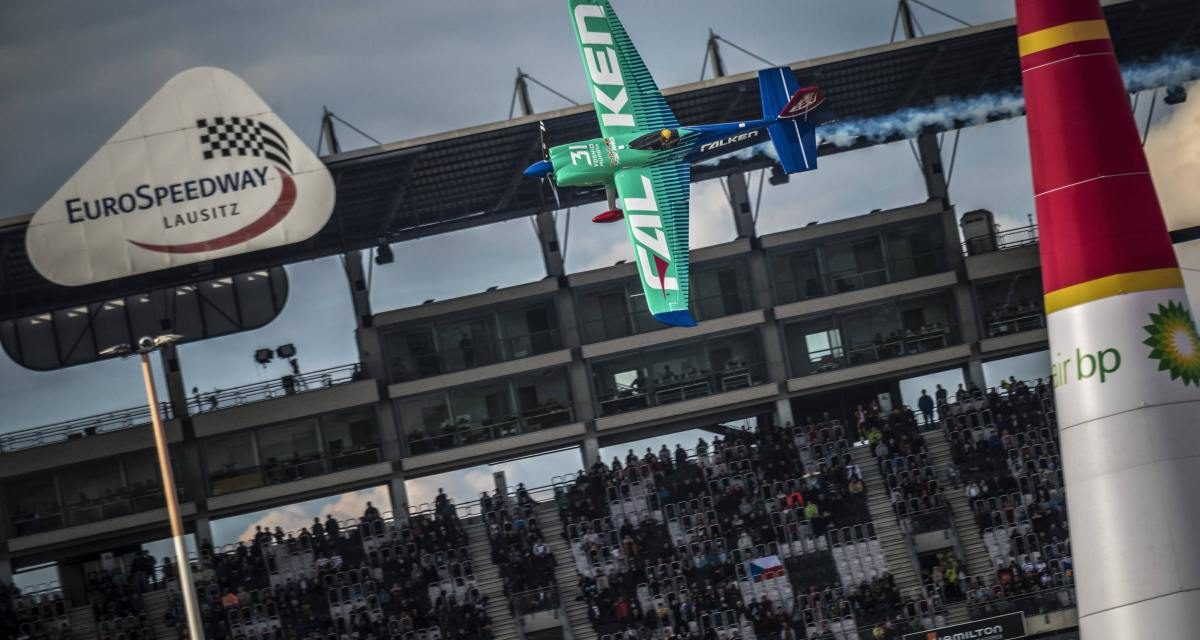 RED BULL AIR RACE: Muroya takes win in mind-blowing Lausitzring race