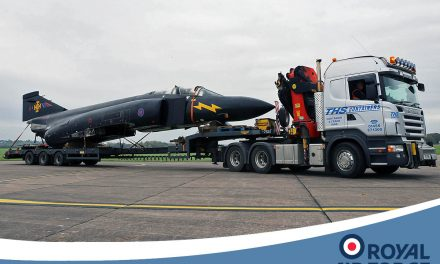 AIRSHOW NEWS: Historic Phantom arrives at RAF Cosford in preparation for RAF100 Air Show