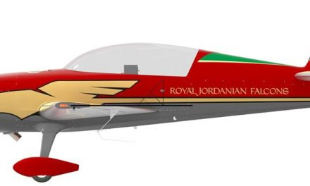 AIRSHOW NEWS: New aircraft and colour scheme for the Royal Jordanian Falcons