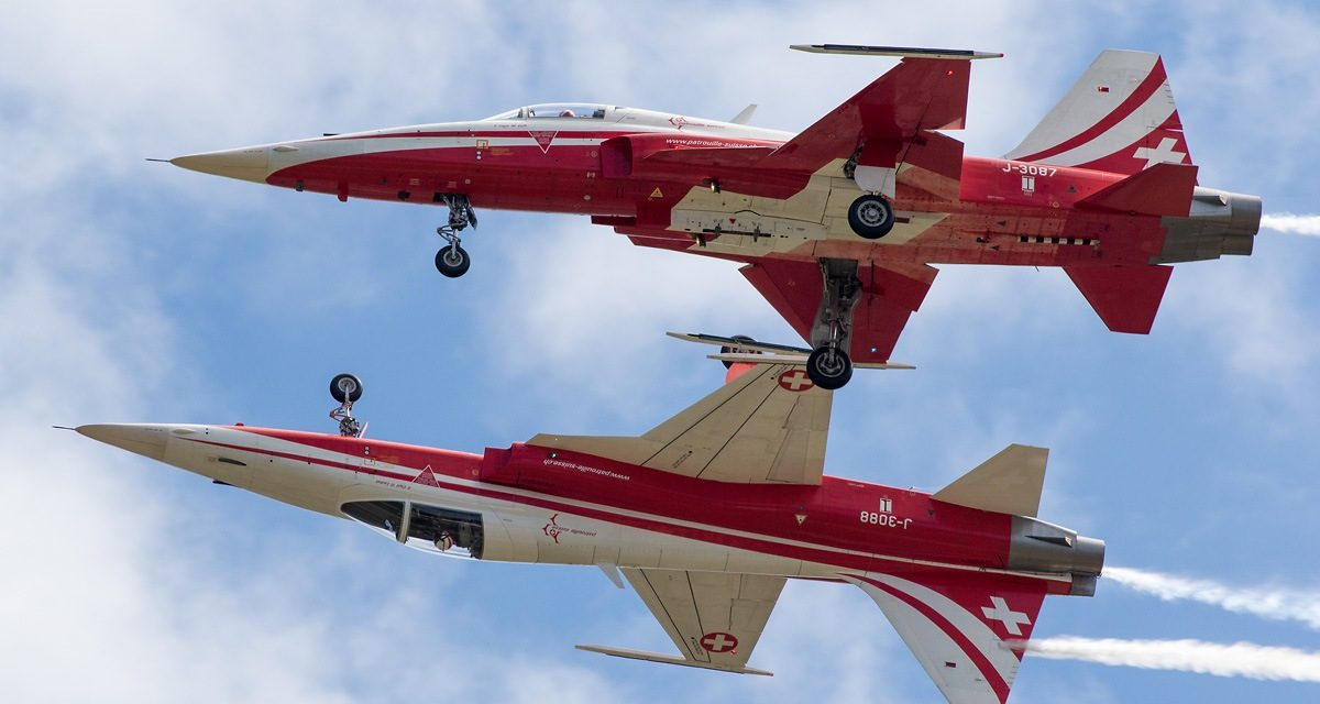 AIRSHOW NEWS: Patrouille Suisse Display Dates 2018