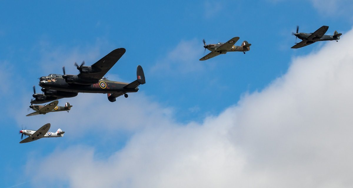 AIRSHOW NEWS: Battle of Britain Memorial Flight Display Dates 2018