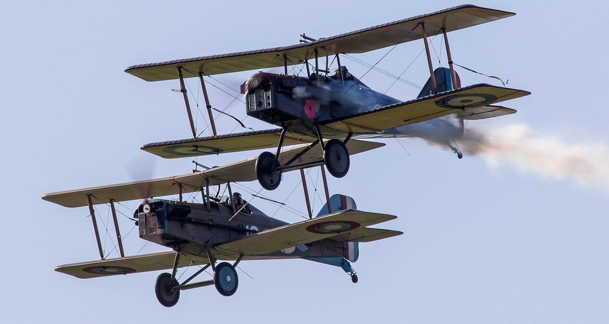 AIRSHOW NEWS: Bremont Great War Display Team join Wales Airshow RAF100 celebrations