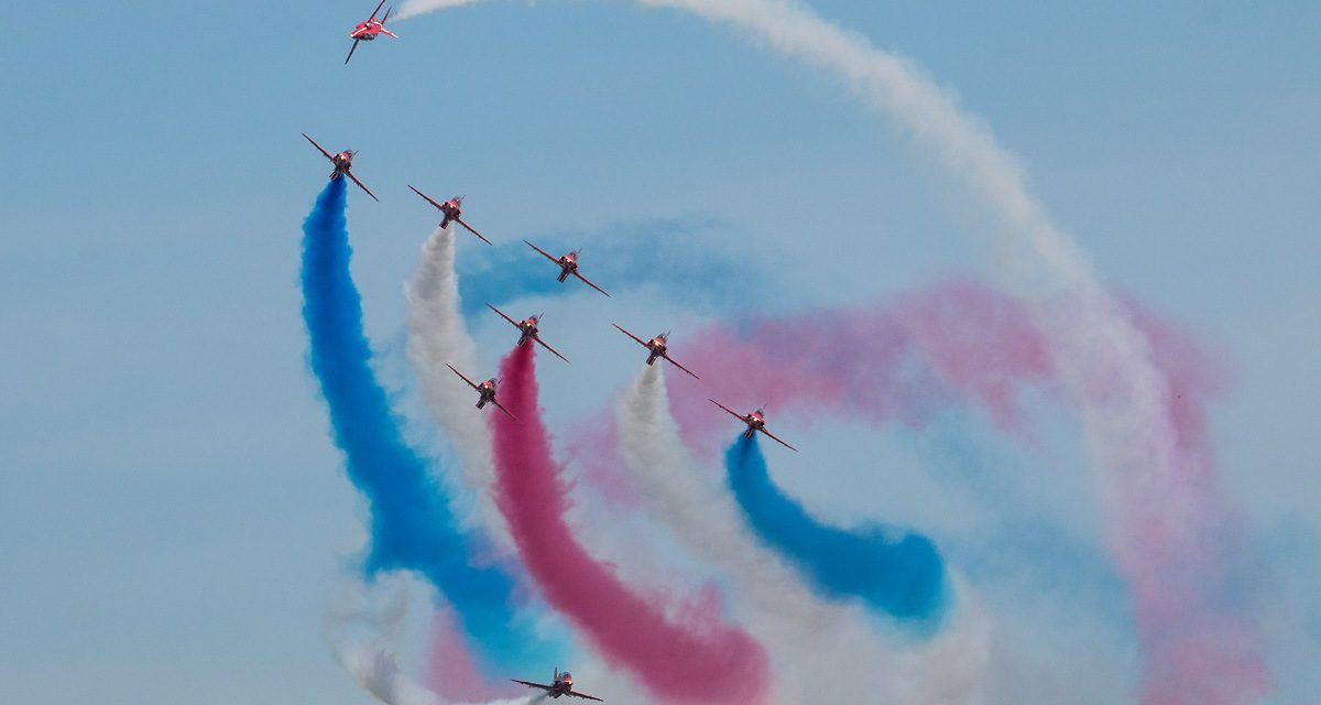 AIRSHOW NEWS: Red Arrows confirm their return to RAF Cosford Air Show