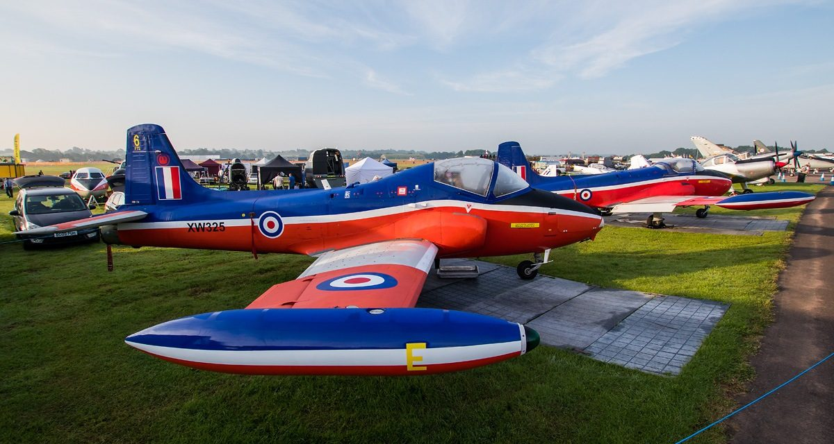 AIRSHOW NEWS: Historic Jet Provost displays planned for the RAF Cosford Air Show