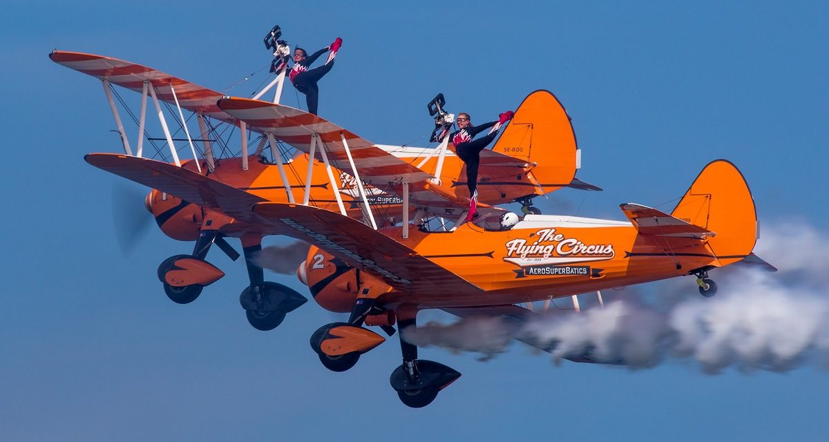 AIRSHOW NEWS: AeroSuperBatics Wingwalking Team have an amazing high flying vacancy for a Wingwalker!