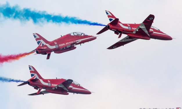AIRSHOW NEWS: Red Arrows to Headline Farewell Dunsfold Wings & Wheels this Father's Day