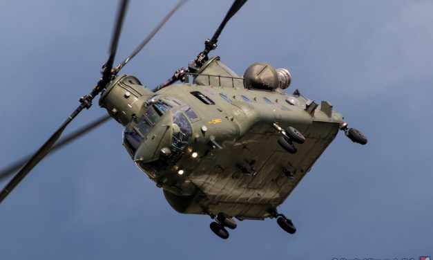 AIRSHOW NEWS: RAF Chinook Display Team Schedule 2019