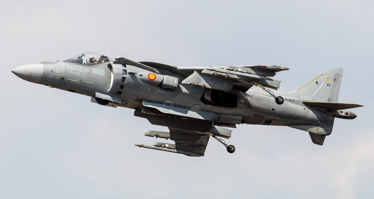 AIRSHOW NEWS: Spanish Navy Harriers Return to Air Day!