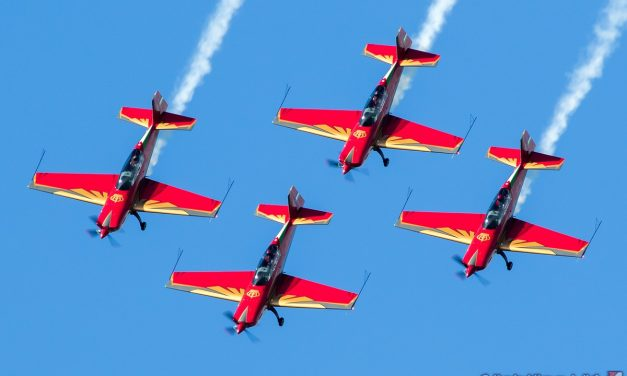 AIRSHOW NEWS: Royal Jordanian Falcons European Tour Display Dates 2019