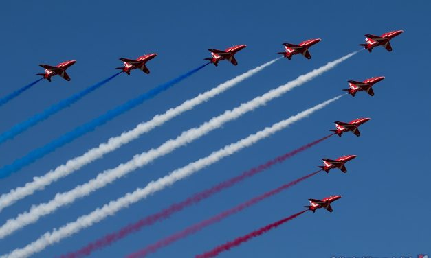 AIRSHOW NEWS: Red Arrows to complete North American tour in August and September 2019