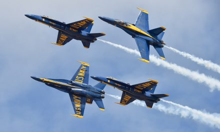 AIRSHOW NEWS: US Navy Blue Angels Display Dates 2019