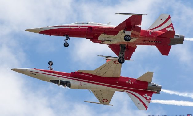AIRSHOW NEWS: Patrouille Suisse Display Dates 2019