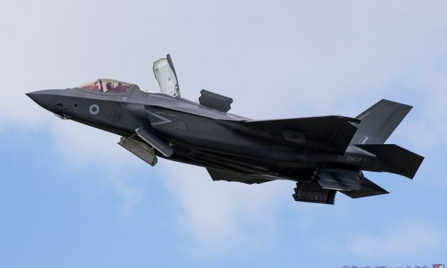 AIRSHOW NEWS: F-35B Lightning Confirmed for Royal Navy International Air Day Flying Debut