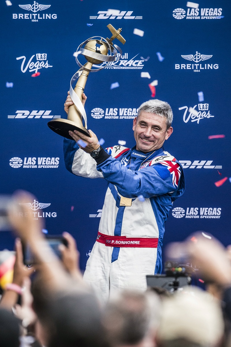 RED BULL AIR RACE: Red Bull Air Race World Champion Paul Bonhomme retires after 3rd title