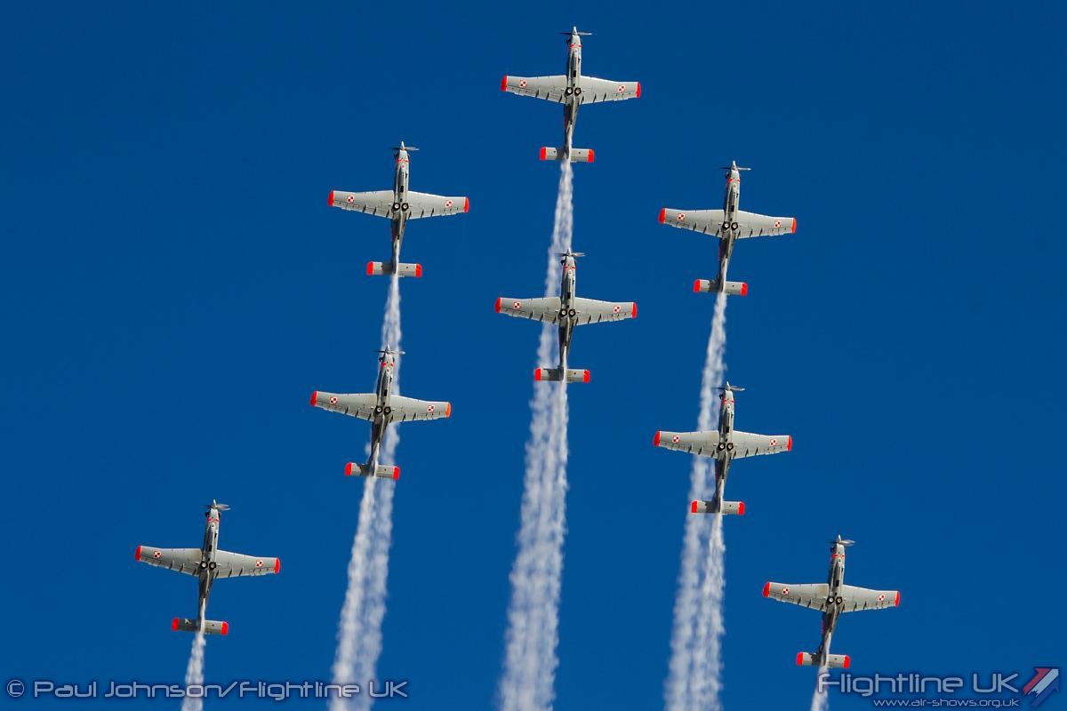 AIRSHOW NEWS: Polish Air Force Team Orlik set to sparkle at Air Day