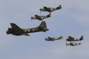 Tickets now on sale for The American Air Show and Flying Legends at IWM Duxford