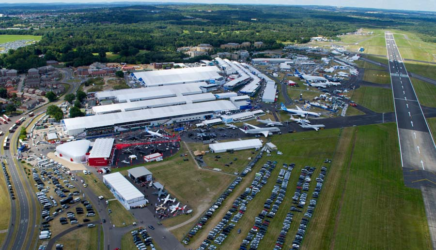 AIRSHOW NEWS: Farnborough International Airshow attracts even more International Participation