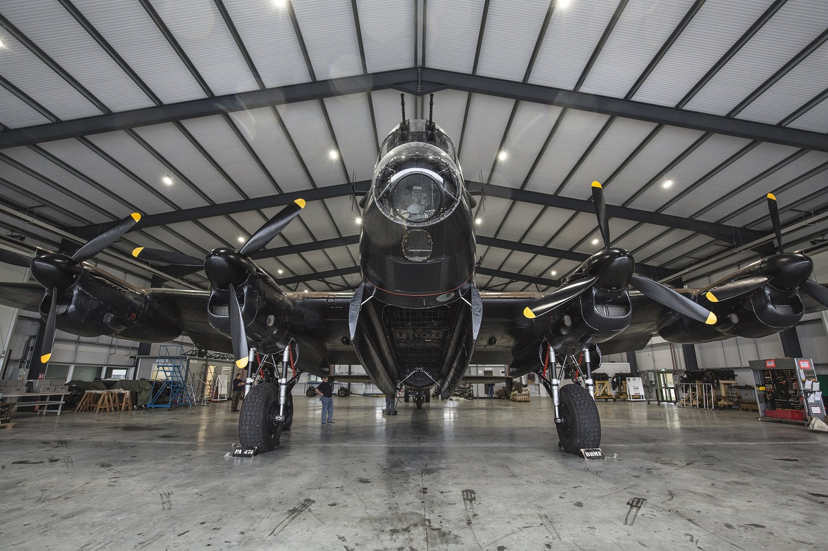 AIRSHOW NEWS: Winter maintenance on rare Lancaster aircraft can be seen by visitors to IWM Duxford