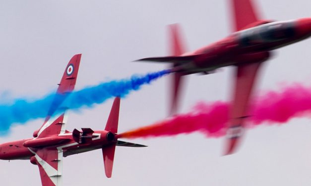 AIRSHOW NEWS: Red Arrows Display Dates 2017